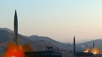 """Statele Unite reacționează după ultimul test militar al regimului de la Phenian. """"Este o ameninţare pentru vecinii Coreei de Nord"""" VIDEO"""