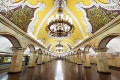 Statiile de metrou din Rusia te fac sa uiti ca Drumul Taberei inca n-are niciuna