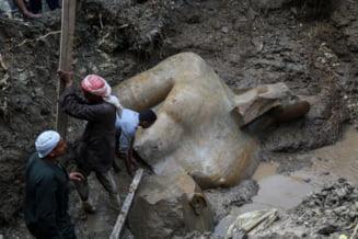 Statuia masiva gasita langa Cairo nu e a lui Ramses II, faraonul cu 201 sotii