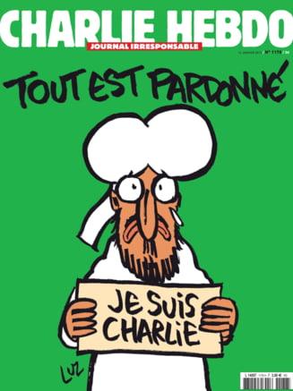 Statul Islamic, revoltat de coperta cu Mahomed a Charlie Hebdo: Un act extrem de stupid