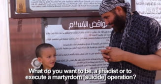 Statul Islamic isi face armata de copii-soldati