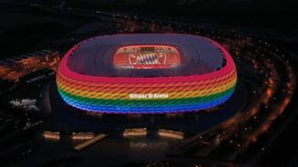 Steagul LGBT va fi arborat pe mai multe cladiri din Munchen, dupa ce UEFA a interzis iluminarea Allianz Arena in culorile curcubeului