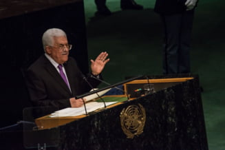 Steagul palestinian flutura la ONU: Este o zi de mandrie, o zi a sperantei