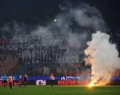 Steaua, amendata de UEFA