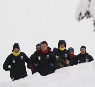 Steaua, amical cu echipa lui Dan Petrescu