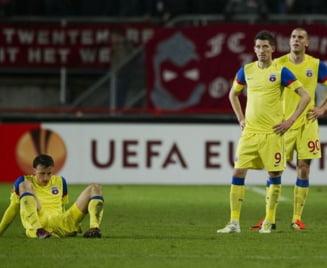 Steaua, batuta la Targu Mures in etapa surprizelor