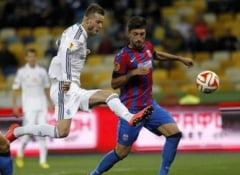 Steaua, eliminata din Europa League, dupa un meci cu greseli de arbitraj