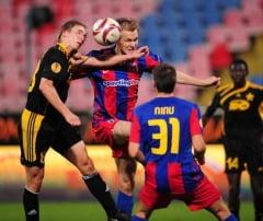 Steaua, eliminata din Europa League dupa 1-1 cu Sheriff