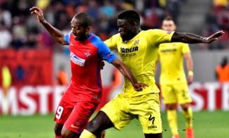 Steaua, eliminata din Europa League dupa infrangerea cu Villarreal