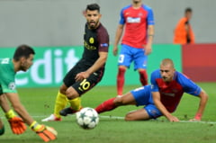 Steaua, invinsa la limita de Manchester City. Vicecampioana va juca in grupele Europa League