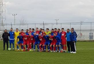 Steaua, meci intrerupt in Antalya dupa ce Lacatus a intrat pe teren