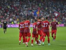 Steaua, prima victorie la primul meci in Liga 2, pe noul stadion Ghencea! Ana Maria Popescu, medaliata cu argint de la Tokyo, a dat lovitura de incepere