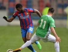 Steaua, victorie chinuita cu CFR Cluj