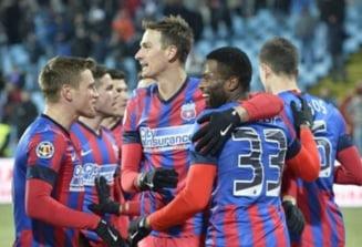 Steaua, victorie la scor cu Chiajna. Lectie de fotbal in Ghencea (Video)