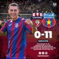Steaua Bucuresti, victorie zdrobitoare in Liga IV, cu 11 goluri marcate