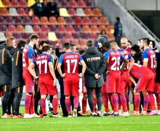 Steaua II, infrangere umilitoare in Liga 3: A primit 5 goluri de la Atletic Bradu