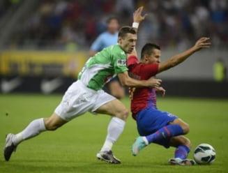 Steaua a castigat derbiul cu CFR Cluj