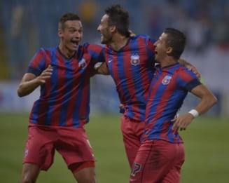 Steaua a demolat-o pe Sageata Navodari. Kapetanos, (re)debut de vis (Video)