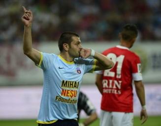 Steaua a facut instructie cu Dinamo in derbiul Romaniei (Video)