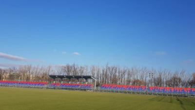 Steaua a investit sute de mii de euro in modernizarea unui teren de antrenament!