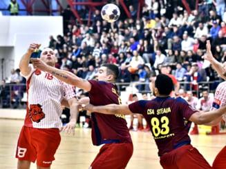 Steaua a invins Dinamo in marele derbi de la handbal masculin