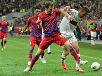 Steaua a invins Dinamo pe National Arena