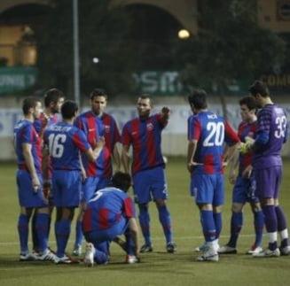 Steaua a invins Targu Mures si spera la calificarea in Europa League