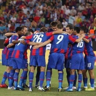 Steaua castiga dramatic la Targu Mures