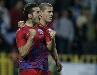 Steaua castiga fara probleme la Iasi si trece pe primul loc in Liga 1
