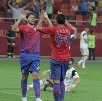 Steaua castiga la Trnava si se califica in playoff-ul Europa League