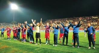 Steaua castiga la scor de neprezentare in Liga 4
