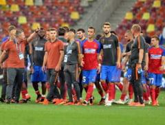 Steaua isi cauta onoarea pe terenul lui Manchester City