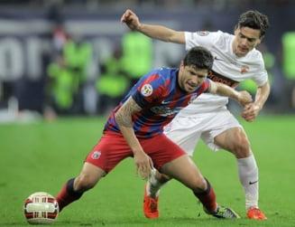 Steaua o invinge pe Dinamo dupa un meci plin de incidente