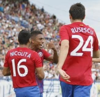 Steaua s-a calificat in grupele Europa League