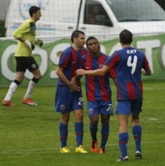 Steaua s-a distrat cu Sanatatea Cluj in Cupa Romaniei