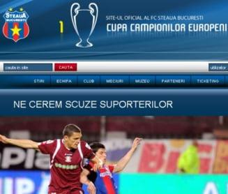 Steaua si-a cerut scuze suporterilor dupa esecul cu Rapid