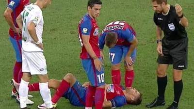 """Steaua si-a pierdut capitanul inaintea """"dublei"""" cu Manchester City"""