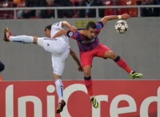 Steaua smulge o remiza in meciul cu Basel (Video)