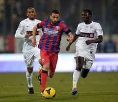Steaua zdrobeste Dinamo in derbiul Romaniei