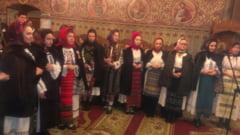 Stefan Hrusca si lumea de basm a colindelor de altadata, in biserica de la Protopopiat