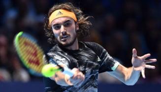 Stefanos Tsisipas castiga Turneul Campionilor la 21 de ani