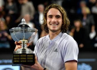 Stefanos Tsitsipas mai cucereste un trofeu in circuitul ATP