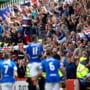 Steven Gerrard, ghinion la primul meci pe banca lui Rangers, in campionatul Scotiei