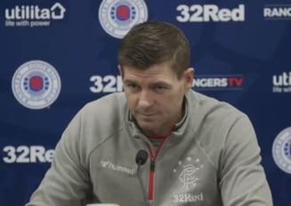 Steven Gerrard pune tunurile pe jucatorii lui Rangers