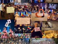 Stie cineva cine sunt liderii protestatarilor din Piata Universitatii?