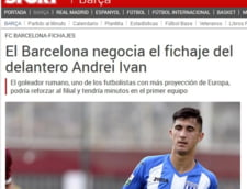 Stirea anului vine din Spania: FC Barcelona vrea un atacant roman, dar n-are bani sa-l cumpere!