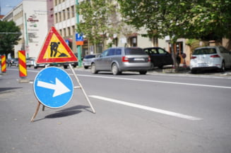 Strada Lucian Blaga din Brasov intra in santier pana in 10 iulie. Este posibil sa fie scurte restrictii de circulatie