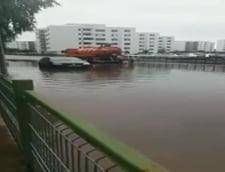 Strada sector 1 inundata