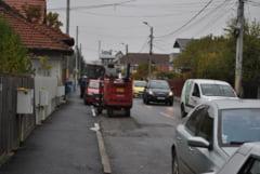 Strada sparta si reparata de patru ori de catre Primaria Targu Jiu