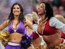 Stralucire, frumusete, sex-appeal: superbele majorete ale Super Bowl (galerie foto)
